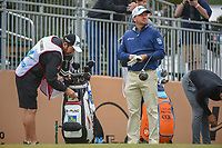 Graeme McDowell (NIR) looks over his tee shot on 10 during Round 3 of the Valero Texas Open, AT&amp;T Oaks Course, TPC San Antonio, San Antonio, Texas, USA. 4/21/2018.<br /> Picture: Golffile   Ken Murray<br /> <br /> <br /> All photo usage must carry mandatory copyright credit (&copy; Golffile   Ken Murray)