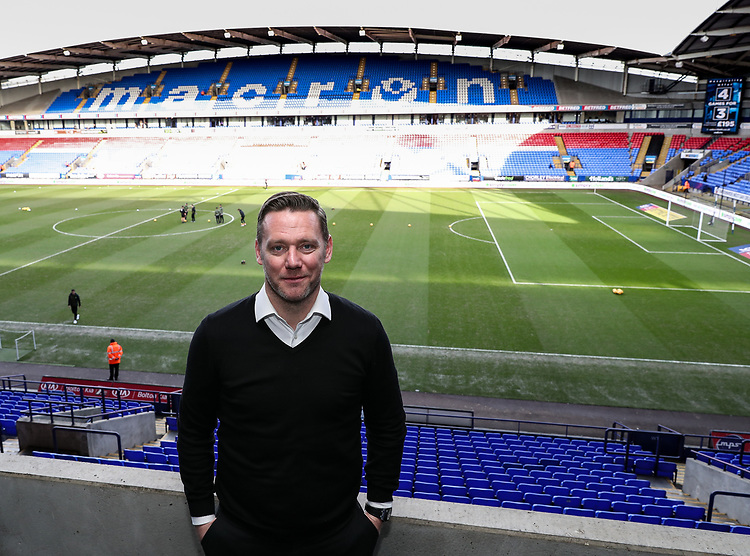 Former Bolton Wanderers player Kevin Nolan pictured before the match<br /> <br /> Photographer Andrew Kearns/CameraSport<br /> <br /> The EFL Sky Bet Championship - Bolton Wanderers v Norwich City - Saturday 16th February 2019 - University of Bolton Stadium - Bolton<br /> <br /> World Copyright © 2019 CameraSport. All rights reserved. 43 Linden Ave. Countesthorpe. Leicester. England. LE8 5PG - Tel: +44 (0) 116 277 4147 - admin@camerasport.com - www.camerasport.com