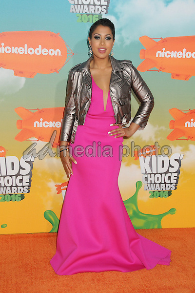 12 March 2016 - Inglewood, California - Patricia Kazadi. 2016 Nickelodeon Kids' Choice Awards held at The Forum. Photo Credit: Byron Purvis/AdMedia