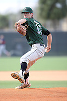 Matthew Mercer, #12 of Noblesville High School, IN for Team Northwest during the WWBA World Championship 2013 at the Roger Dean Complex on October 25, 2013 in Jupiter, Florida. (Stacy Jo Grant/Four Seam Images)