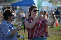 NWA Democrat-Gazette/ANDY SHUPE<br /> Friday, Aug. 9, 2019, during the 121st Tontitown Grape Festival in Tontitown. The festival, which features crafts vendors, chicken and spaghetti dinners and a midway, continues through today.