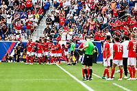 HARRISON, EUA, 28.07.2018 - BENFICA-JUVENTUS - Grimaldo do Benfica comemora seu gol com companheiros em partida contra a Juventus pela Copa dos Campeões Internacional na Red Bull Arena nos Estados Unidos neste sábado, 28 (Foto: Vanessa Carvalho/Brazil Photo Press)