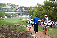 Louis Oosthuizen (RSA), Hideki Matsuyama (JPN) on the 12th during the 3rd round at the WGC Dell Technologies Matchplay championship, Austin Country Club, Austin, Texas, USA. 24/03/2017.<br /> Picture: Golffile | Fran Caffrey<br /> <br /> <br /> All photo usage must carry mandatory copyright credit (&copy; Golffile | Fran Caffrey)