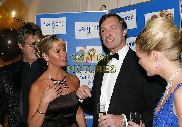 MIKE REID, ALEX BEST & LORD CHARLES BROCKETT.The Chocolate Ball in aid of Sargent Cancer Care for Children at the Cafe Royal, Piccadilly.11 March 2004.www.capitalpictures.com.sales@capitalpictures.com.© Capital Pictures.
