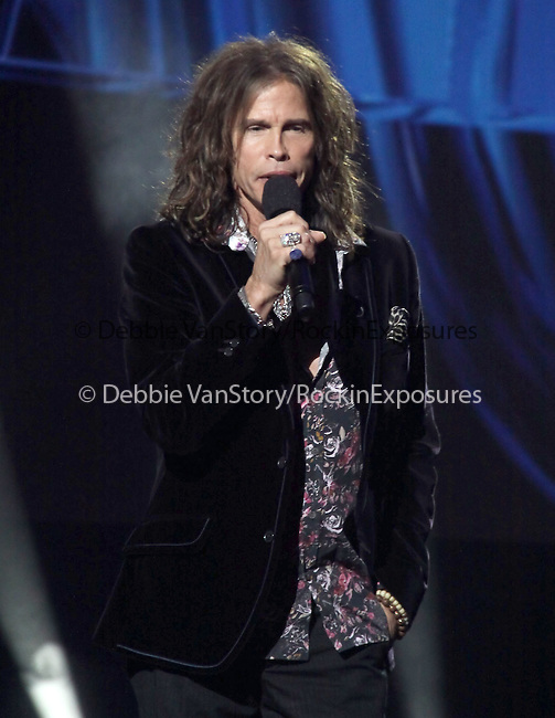 Steven Tyler  at The AMERICAN IDOL Season Ten judges' panel Announcement held at The Forum in Los Angeles, California on September 22,2010                                                                               © 2010 Hollywood Press Agency