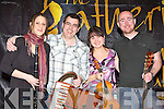 Alan Kelly and his band who performed at the Scattering concert at the Gathering Traditional festival in the Gleneagle Hotel on Saturday night l-r: Steph Geremia, Alan Kelly, Maureen Browne and Tony Byrne......