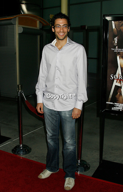 "HOLLYWOOD, CA. - September 03: Adam Tsekhman arrives at the Los Angeles premiere of ""Sorority Row"" at the ArcLight Hollywood theater on September 3, 2009 in Hollywood, California."