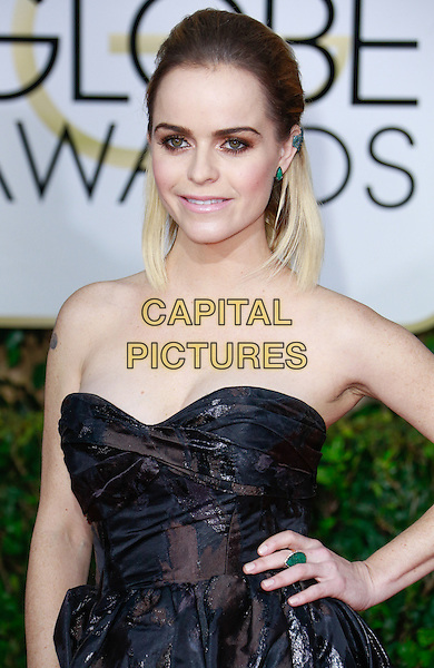 BEVERLY HILLS, CA - January 11: Taryn Manning at Golden Globes 2015 held at Beverly Hilton in Beverly Hills, California on January 11, 2015.  <br /> CAP/MPI/mpi500<br /> &copy;mpi500/MPI/Capital Pictures