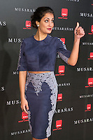 "Hiba Abouk attend the Premiere of the movie ""Musaranas"" in Madrid, Spain. December 17, 2014. (ALTERPHOTOS/Carlos Dafonte) /NortePhoto /NortePhoto.com"