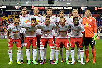 Harrison, NJ - Wednesday Feb. 22, 2017: New York Red Bulls Starting Eleven prior to a Scotiabank CONCACAF Champions League quarterfinal match between the New York Red Bulls and the Vancouver Whitecaps FC at Red Bull Arena.