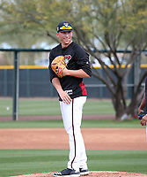 Taylor Wdener - Arizona Diamondbacks 2018 spring training (Bill Mitchell)