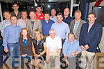 Night Out - Golfers pictured enjoying themselves at the annual Churchill Juvenile GAA Club Golf and Grub Day in Tralee Sailing Club on Saturday night following the Tournament held at Ballyheigue Castle Golf Club earlier. Seated l/r Anne O'Sullivan, Anita Falvey, Joe Rogers and Mike Moriarty, back l/r Declan Crowley, Peter O'Brien, Eoin Burns, Peter Linehan, Kevin Falvey, Kevin Crowley, John O'Brien, Noel Dolan, Niall o? Loingsigh, Patrick O'Sullivan, Sean Carmody and Kevin McCarthy.