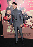 """14 June 2017 - Los Angeles, California - Ansel Elgort. Los Angeles Premiere of """"Baby Driver"""" held at the Ace Hotel Downtown in Los Angeles. Photo Credit: Birdie Thompson/AdMedia"""