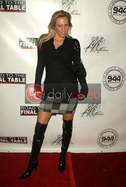 Melissa Jo Hunter<br />at Poker for Katrina Relief. Montmartre Lounge, Hollywood, CA. 12-01-05<br />Dave Edwards/DailyCeleb.com 818-249-4998