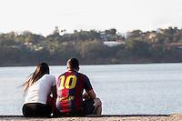 BELO HORIZONTE, MG, 23.07.2016 - CIDADE-BH - Orla da Lagoa da Pampulha, na região da Pampulha, em Belo Horizonte, Minas Gerais, neste sabado, 23. (Foto: Doug Patricio / Brazil Photo Press).