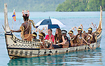 """CATHERINE, DUCHESS OF CAMBRIDGE AND PRINCE WILLIAM.travel in a war canoe accompanied by tribesman, to Tavanipupu, where they spent their last night of their tour of the Solomon Islands_17/09/2012.Mandatory credit photo: ©Hussein-DIASIMAGES/NEWSPIX INTERNATIONAL..""""NO UK USE FOR 28 DAYS"""" ..(Failure to credit will incur a surcharge of 100% of reproduction fees)..                **ALL FEES PAYABLE TO: """"NEWSPIX INTERNATIONAL""""**..IMMEDIATE CONFIRMATION OF USAGE REQUIRED:.DiasImages, 31a Chinnery Hill, Bishop's Stortford, ENGLAND CM23 3PS.Tel:+441279 324672  ; Fax: +441279656877.Mobile:  07775681153.e-mail: info@newspixinternational.co.uk"""