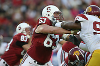 4 November 2006: Chris Marinelli during Stanford's 42-0 loss to USC at Stanford Stadium in Stanford, CA.
