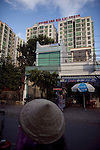 The Hoang Anh  building on Le Van Luong street in District 7 in Ho Chi Minh City, Vietnam...Photo taken Wednesday, November 11, 2009. Kevin German / Luceo Images
