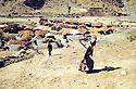 Iran 1982.The camp of the smugglers near the Iraqi border<br /> Iran 1982  Le camp des contrebandiers pr&egrave;s de la fronti&egrave;re irakienne.