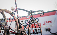Team Lotto-Soudal's weapon of choice<br /> <br /> 115th Paris-Roubaix 2017 (1.UWT)<br /> One Day Race: Compi&egrave;gne &rsaquo; Roubaix (257km)