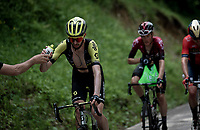 bidon for Damien Howson (AUS/Mitchelton-Scott)<br /> <br /> Stage 7: Saint-Genix-les-Villages to Pipay  (133km)<br /> 71st Critérium du Dauphiné 2019 (2.UWT)<br /> <br /> ©kramon