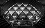 Inside the Mode Gakuen Cocoon Building, Tokyo, Japan