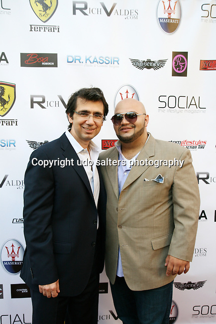 Ramtin Kassir, M.D. of Mona Lisa Cosmetic Surgery Center and Rich Valdes Attend Metropolitan Bikini Fashion Weekend 2013 Held at BOA Sponsored by Social Magazine, Maserati and Ferrari, Hoboken NJ