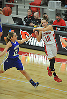 NWA Democrat-Gazette/MICHAEL WOODS • @NWAMICHAELW<br /> The Farmington Cardinals vs the Harrison Goblins Tuesday January 12, 2016 during their game at Cardinal Arena in Farmington.
