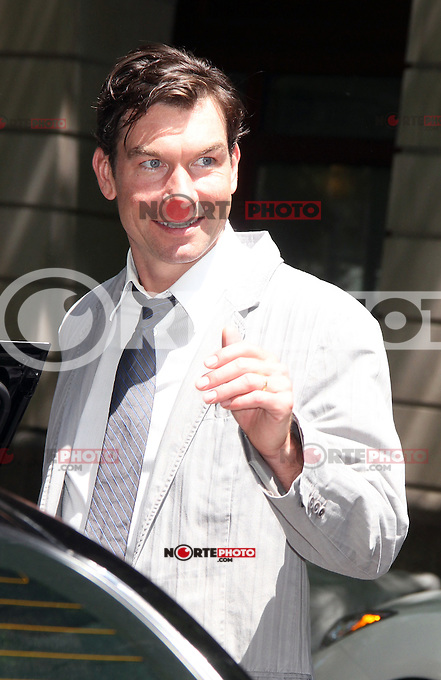 May 29, 2012 Guest host Jerry O'Connell at Live with Kelly! in New York City. © RW/MediaPunch Inc.