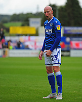 Macclesfield Town's Danny Whittaker<br /> <br /> Photographer Andrew Vaughan/CameraSport<br /> <br /> The EFL Sky Bet League One - Macclesfield Town v Lincoln City - Saturday 15th September 2018 - Moss Rose - Macclesfield<br /> <br /> World Copyright &copy; 2018 CameraSport. All rights reserved. 43 Linden Ave. Countesthorpe. Leicester. England. LE8 5PG - Tel: +44 (0) 116 277 4147 - admin@camerasport.com - www.camerasport.com