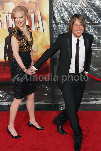 24 November 2008- New York, NY- Keith Urban and Nicole Kidman arriving to the New York Premiere of Australia.<br /> Photo Credit: Paul Zimmerman/AdMedia