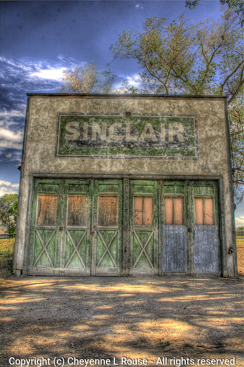 Old Sinclair Station - Utah