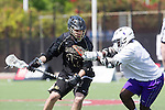 Orange, CA 05/16/15 - Grant McCannon (Colorado #17) and Kris Holland (Grand Canyon #1) in action during the 2015 MCLA Division I Championship game between Colorado and Grand Canyon, at Chapman University in Orange, California.