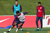 Alex Oxlade-Chamberlain during the part open training session of the  England national football squad at St George's Park, Burton-Upon-Trent, England on 31 August 2017. Photo by James Williamson.