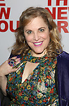 Claudia Shear attends the opening night party for the New Group Production of Wallace Shawn's  'Evening at the Talk House' at Green Fig Urban Eatery on 2/16/2017 in New York City.