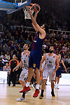 Turkish Airlines Euroleague 2017/2018.<br /> Regular Season - Round 8.<br /> FC Barcelona Lassa vs Valencia Basket: 89-71.<br /> Pierre Oriola.