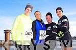 Claire Molloy, Mandy Hudson, Susan Flaherty and Charlotte Devane at the Valentines 10 mile road race in Tralee on Saturday.