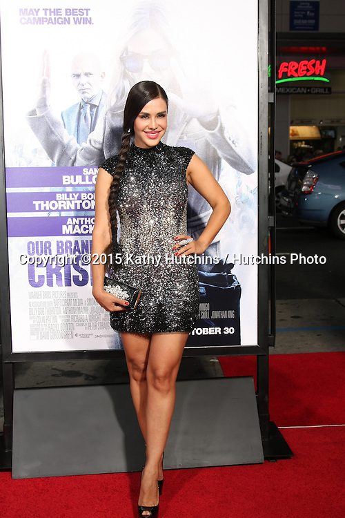 "LOS ANGELES - OCT 26:  Carla Ortiz at the ""Our Brand is Crisis"" LA Premiere at the TCL Chinese Theater on October 26, 2015 in Los Angeles, CA"