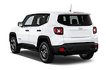 Car pictures of rear three quarter view of2017 JEEP Renegade Sport 5 Door Suv Angular Rear