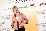 Spanish the actress Belén Rueda during the photocall of presentation of the film 'El cuaderno de Sara'. January 30, 2018. (ALTERPHOTOS/Acero)