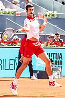 Serbian Novak Djokovic during Mutua Madrid Open 2018 at Caja Magica in Madrid, Spain. May 07, 2018. (ALTERPHOTOS/Borja B.Hojas) /NortePhoto.com