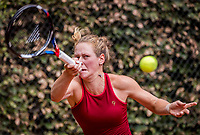 Hilversum, Netherlands, August 8, 2018, National Junior Championships, NJK, Stephanie Visscher (NED)<br /> Photo: Tennisimages/Henk Koster