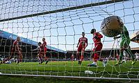 Leeds United's Patrick Bamford scores the opening goal <br /> <br /> Photographer Alex Dodd/CameraSport<br /> <br /> The EFL Sky Bet Championship - Leeds United v Middlesbrough - Saturday 30th November 2019 - Elland Road - Leeds<br /> <br /> World Copyright © 2019 CameraSport. All rights reserved. 43 Linden Ave. Countesthorpe. Leicester. England. LE8 5PG - Tel: +44 (0) 116 277 4147 - admin@camerasport.com - www.camerasport.com