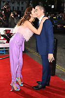 "Olga Kurylenko and Rowan Atkinson<br /> arriving for the premiere of ""Johnny English Strikes Again"" at the Curzon Mayfair, London<br /> <br /> ©Ash Knotek  D3436  03/10/2018"