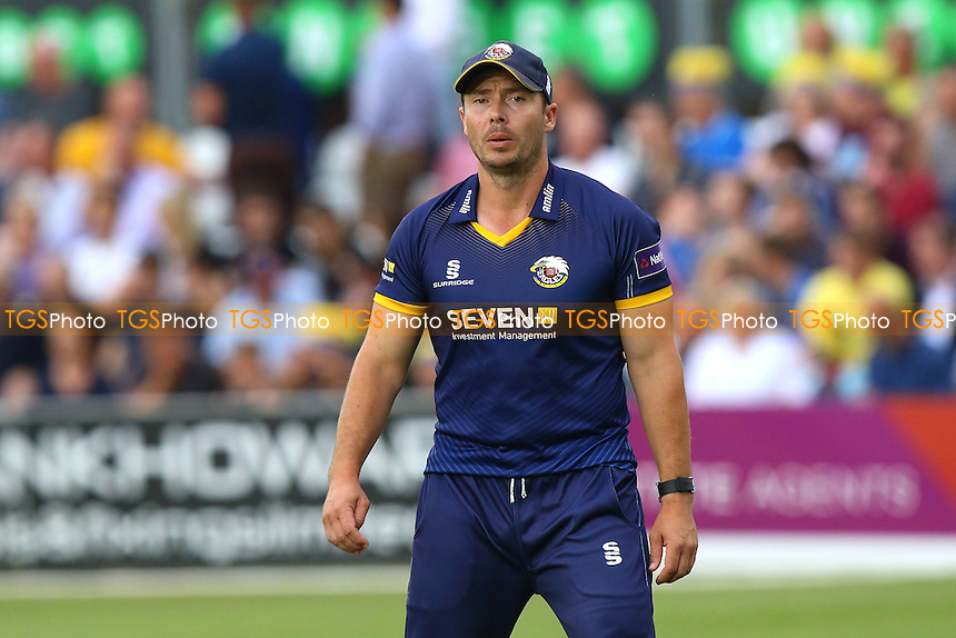 Graham Napier of Essex during Essex Eagles vs Glamorgan, NatWest T20 Blast Cricket at the Essex County Ground on 29th July 2016