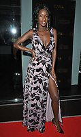 Sarah Mulindwa at the Diamond Roc and The National Gallery fashion collaboration launch party, CAMA Gallery, Dacre Street, London, England, UK, on Monday 02 July 2018.<br /> CAP/CAN<br /> &copy;CAN/Capital Pictures