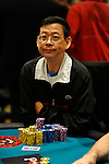 John Chong has knocked out a few people today and has amassed a nice chip stack.