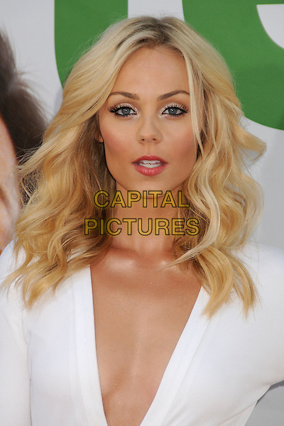 Laura Vandervoort.The L.A. Premiere of 'Ted' held at The Grauman's Chinese Theatre in Hollywood, California, USA..June 21st, 2012.headshot portrait white plunging neckline cleavage   .CAP/ADM/BP.©Byron Purvis/AdMedia/Capital Pictures.