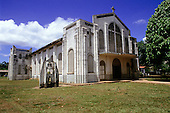 Belterra, Para State, Brazil. Church built by Ford, part of the rubber plantation settlement.