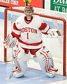 Kerrin Sperry (BU - 1) - The Boston University Terriers defeated the visiting Harvard University Crimson 2-1 on Sunday, November 18, 2012, at Walter Brown Arena in Boston, Massachusetts.